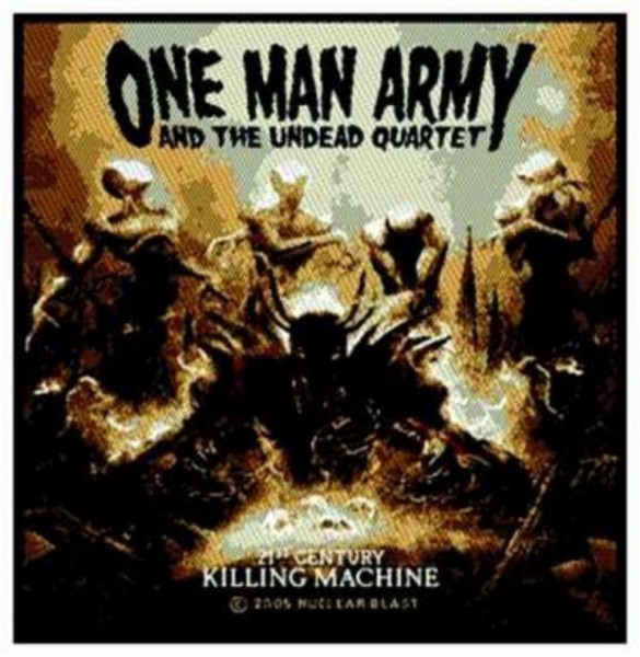 One Man Army - Killing Machine Patch