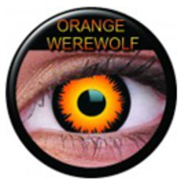 Kontaktlinse Orange Werewolf (Paar) ART OF DARK