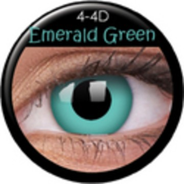 Kontaktlinse Emerald Green (Paar) ART OF DARK