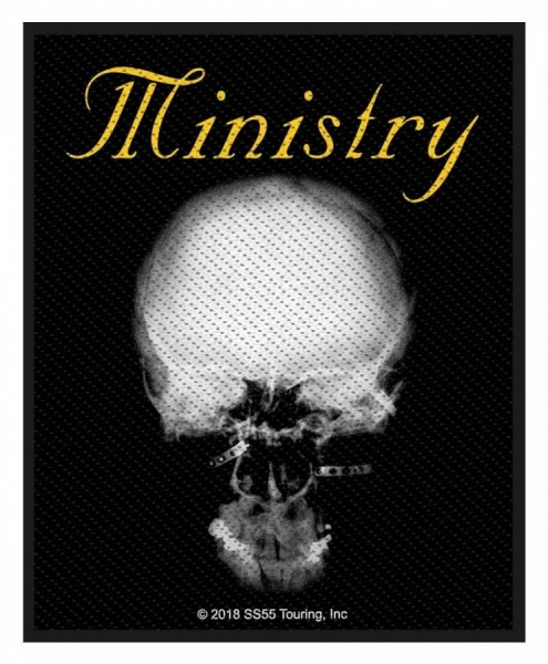 Ministry - The Mind is a terrible thing to taste - Aufnäher Patch