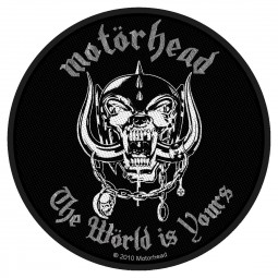 Motörhead - The Wörld Is Yours Patch