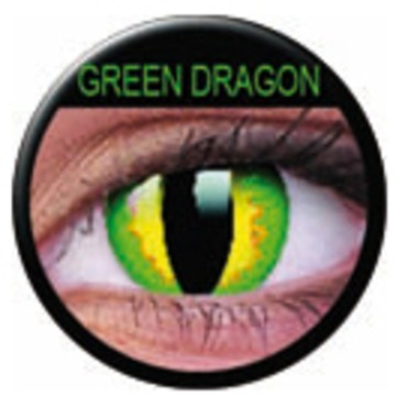 Kontaktlinse Green Dragon(Paar) ART OF DARK