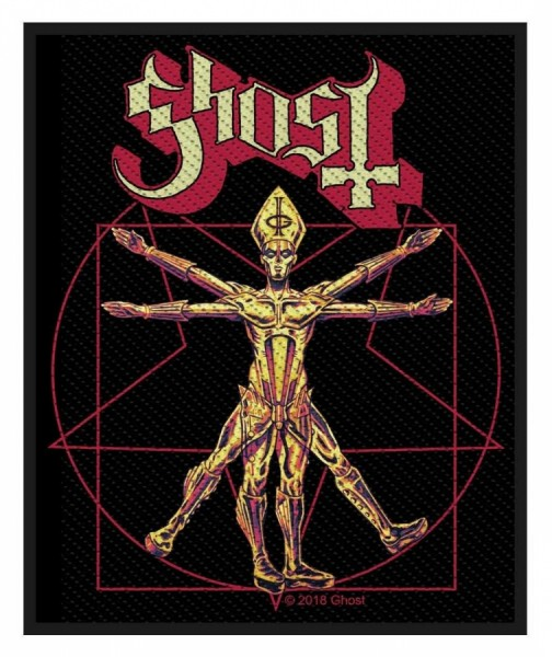 Ghost - The Vitruvian Ghost Patch Aufnäher