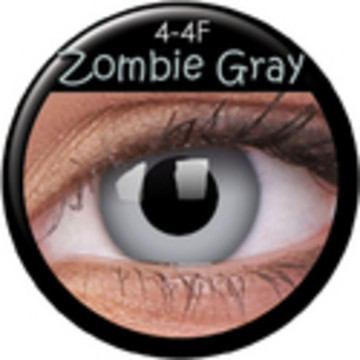 Kontaktlinse Zombie Gray (Paar) ART OF DARK