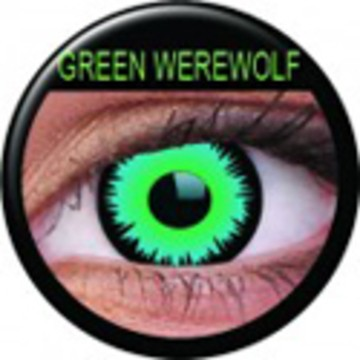 Kontaktlinse Green Werewolf (Paar) ART OF DARK