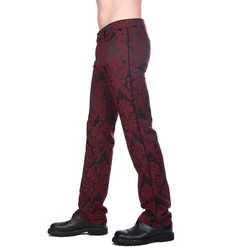 New Hipster Brocade (Bordeaux)