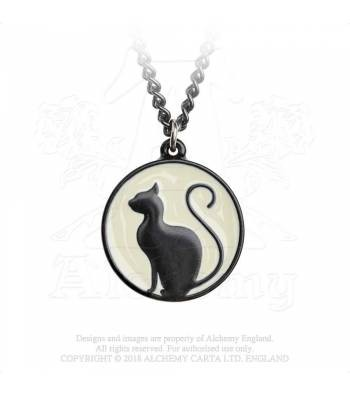 Meow at the moon P824 Pendant