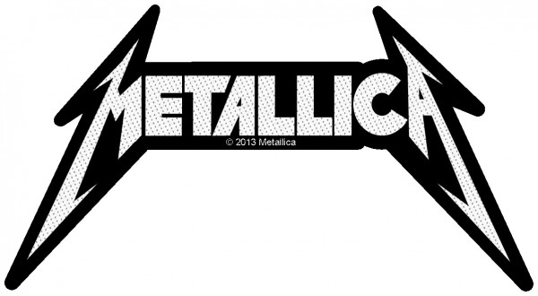 Metallica - Logo Shape Patch