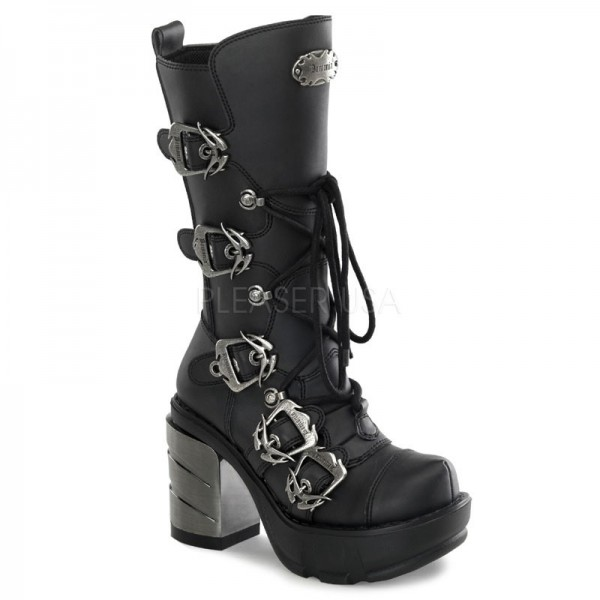 Gothic Metal High Heel Sinister 203 Demonia