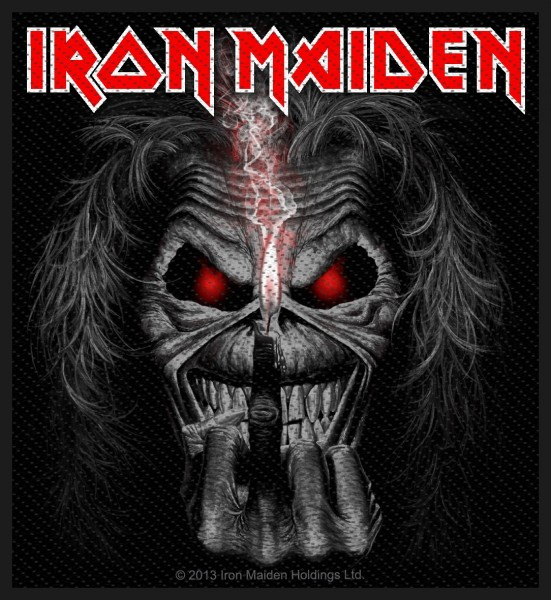 Iron Maiden - Candle Finger Patch