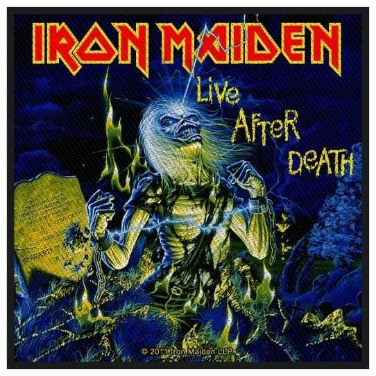 Iron Maiden - Live After Death Patch Aufnäher ART OF DARK