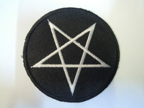Pentagram Aufbügler Patch