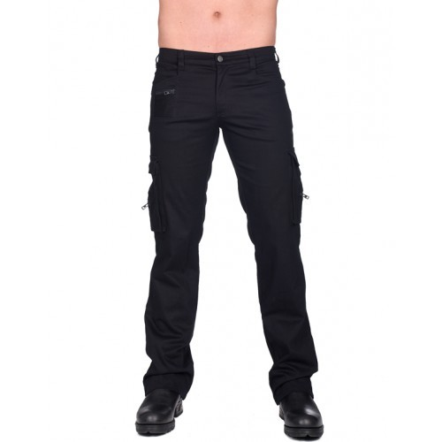 Combat Pants Denim Black Pistol