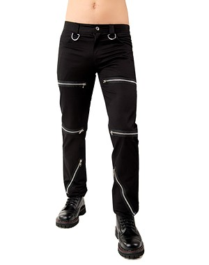 Destroy Pants Denim Black Pistol ART OF DARK