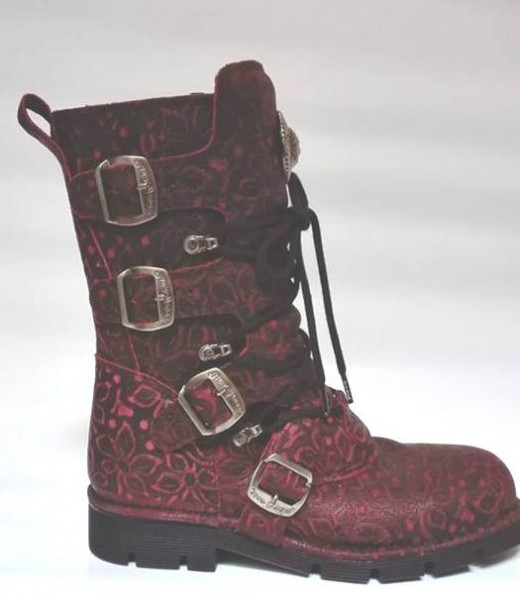 Floral Burgundy Plane Royo New Rock