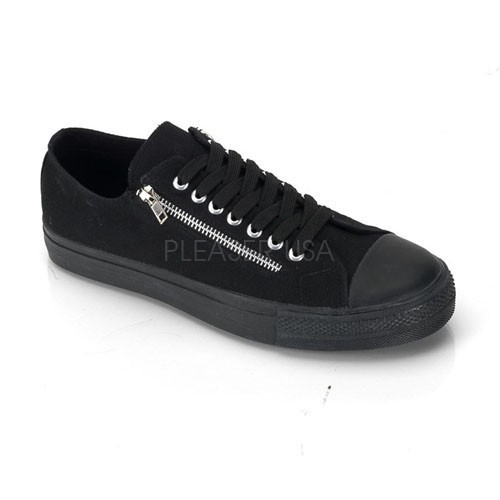 Gothic Chucks Sneakers Demonia