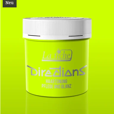 Fluorescent Lime Directions