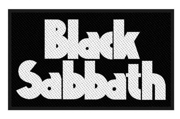 Black Sabbath - Logo Patch
