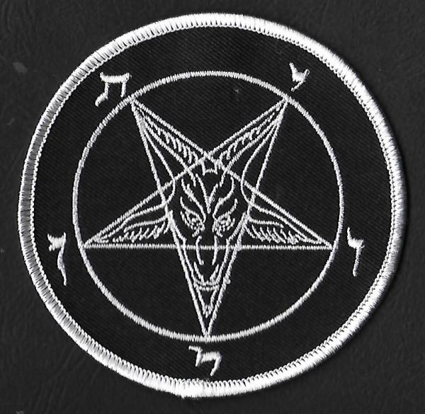 Baphomet Patch rund