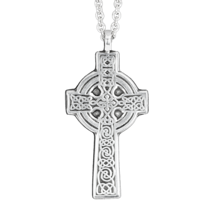 keltisches Kreuz Anhänger ART OF DARK, Pewter