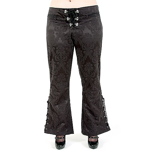Victorian Hipster Brocade Rubiness Gothic Hose