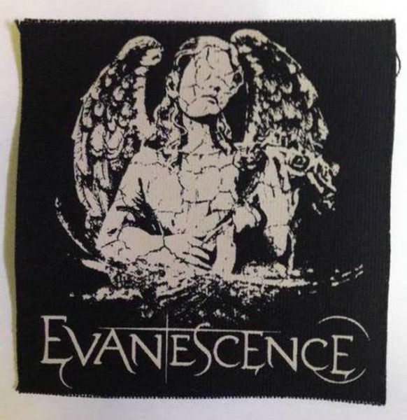 Evanescence - Engel Angel Canvas Patch Aufnäher