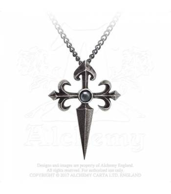 Santiago Cross Pendant Alchemy, Pewter