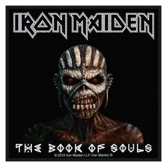 Iron Maiden - Book Of Souls Patch Aufnäher