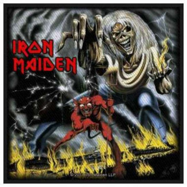 Iron Maiden - Number of the Beast Patch Aufnäher