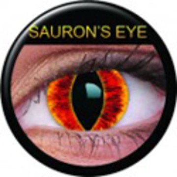 Kontaktlinse Sauron`s Eye (Paar) ART OF DARK