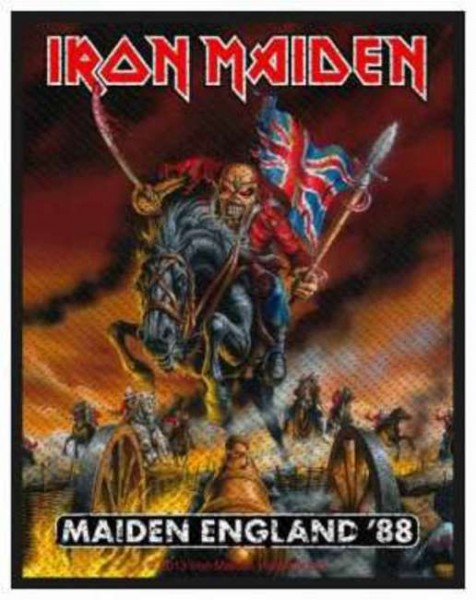 Iron Maiden - England ´88 Patch